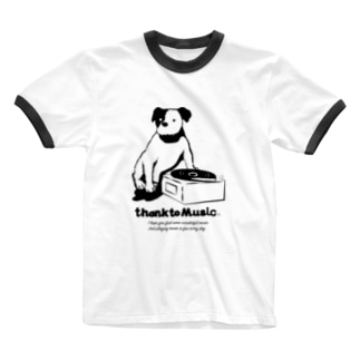 thank to Music Ringer T-shirts