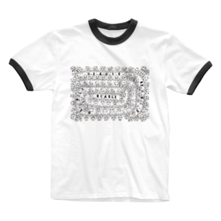 GURUGURU BEAGLES 第一弾  Ringer T-shirts