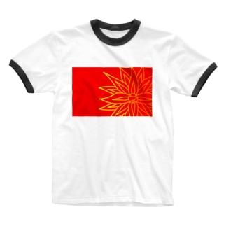 アジア Ringer T-shirts