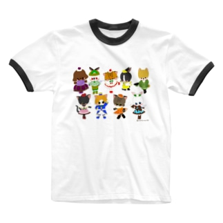 sweets☆animal Ringer T-shirts