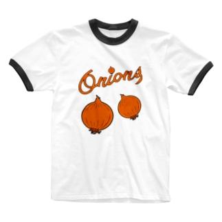 オニオンズ Ringer T-shirts