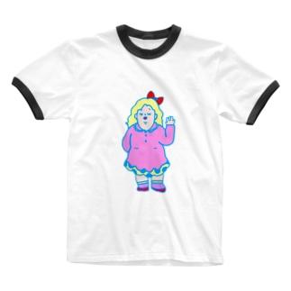 キャシー Ringer T-shirts