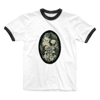 同じ夢を見る Ringer T-shirts