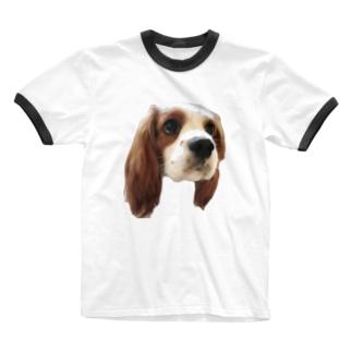 からし Ringer T-shirts