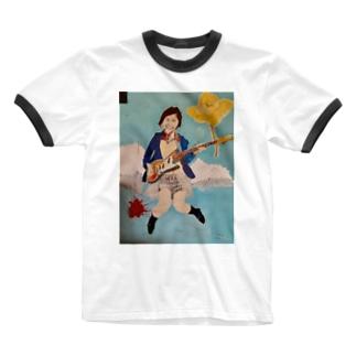 ロックと浄土(それぞれのほうほうろん) Ringer T-shirts