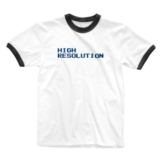 HIGH RESOLUTION Ringer T-shirts