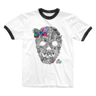 有坂愛海×326「グロスカルリボン」 Ringer T-shirts