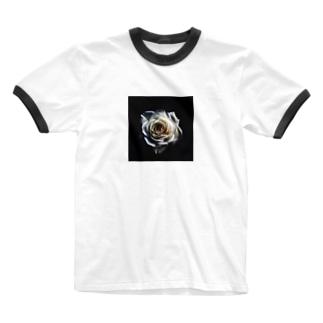 ローズ🥀 Ringer T-shirts