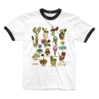 食虫植物図鑑 Ringer T-Shirt