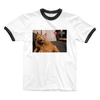 emergency cat Ringer T-shirts