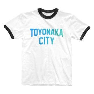 豊中市 TOYONAKA CITY Ringer T-shirts