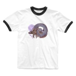 ビッグホーン Ringer T-shirts