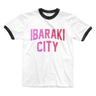 茨木市 IBARAKI CITY Ringer T-shirts