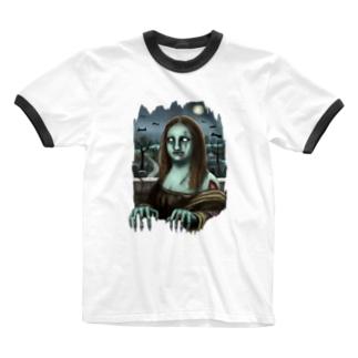 ゾンビなモナ Ringer T-Shirt