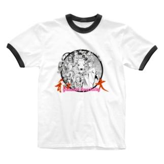 奈良名物 Ringer T-shirts