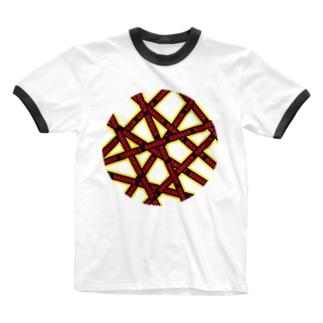 DANGER Ringer T-shirts