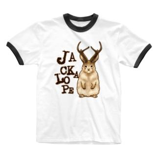 UMA ジャッカロープ ver.1 Ringer T-Shirt