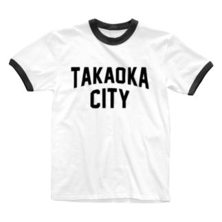 高岡市 TAKAOKA CITY Ringer T-shirts