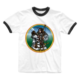 神武天皇だよ Ringer T-shirts