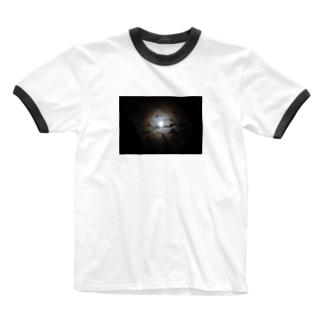 月夜 Ringer T-shirts