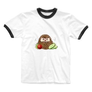 コロッケ(パン粉粗め) Ringer T-shirts