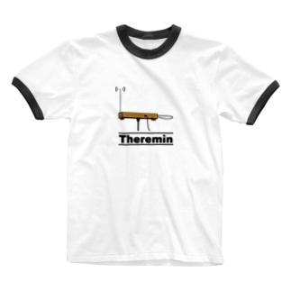 テルミン Ringer T-shirts