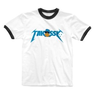 メタっし∵ Ringer T-shirts