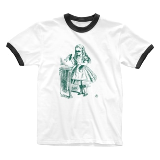 少女A Ringer T-shirts