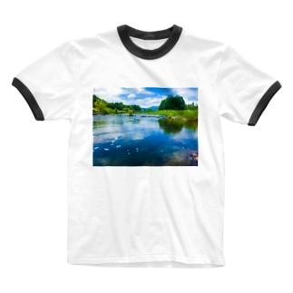 荒川(in栃木) Ringer T-shirts
