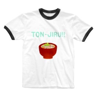 TON-JIRU!! Ringer T-shirts