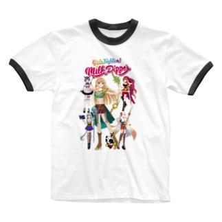 ガールズファイター!ミルクディッパー☆06☆Hitomi Ringer T-shirts