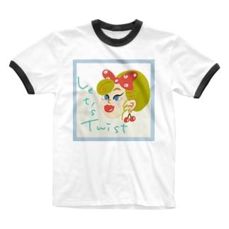 Let's Twist Ringer T-Shirt