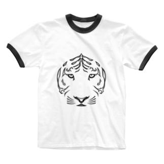 虎 Ringer T-shirts