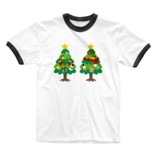 CT88 林さんのクリスマスA Ringer T-shirts
