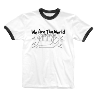 大集合だわいわい Ringer T-shirts
