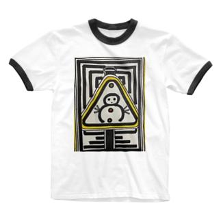 DBくん Ringer T-shirts