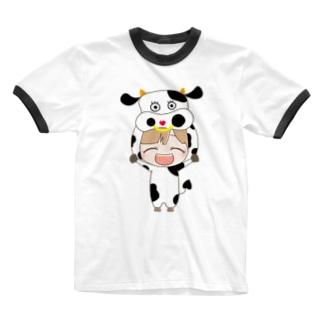 うしし Ringer T-shirts