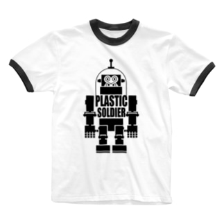 PLASTIC  SOLDIER Ringer T-shirts