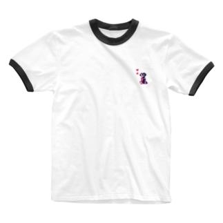 心ちゃんグッズ💗 Ringer T-shirts
