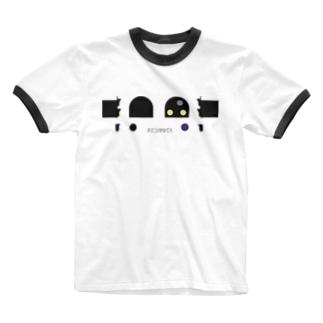 イレシンダーヘッドと識別灯 Ringer T-shirts