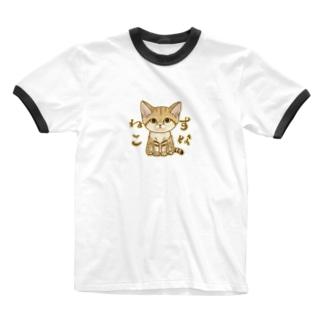 スナネコ Ringer T-Shirt