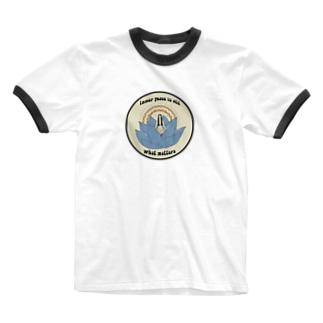 Inner Peace matters Ringer T-shirts