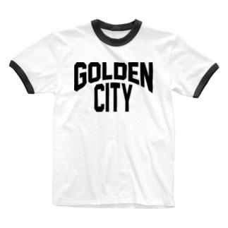 ゴールデン街 Ringer T-shirts