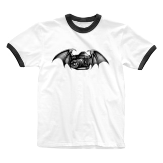 Lucifer's camera Ringer T-shirts