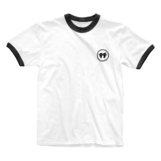 ぼっくん&すずりん Ringer T-shirts
