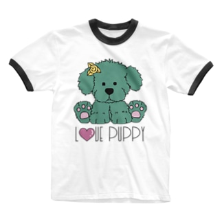 JOKERS FACTORYのPUPPY Ringer T-shirts