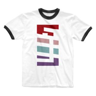 タナカさん名入れグッズ(カタカナ)難読?  Ringer T-shirts