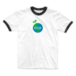 ECO!! Ringer T-Shirt