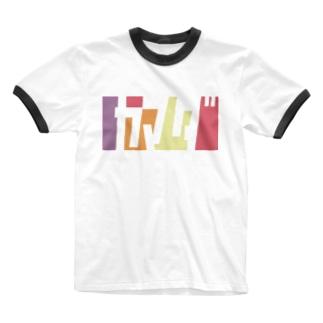 ヤマダさん名入れグッズ(カタカナ)難読? 苗字  Ringer T-shirts