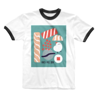 HAVE A NICE SUSHI Ringer T-shirts